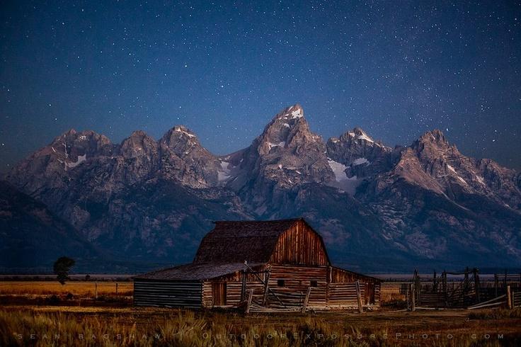 Grand Tetons...beautiful night and day!