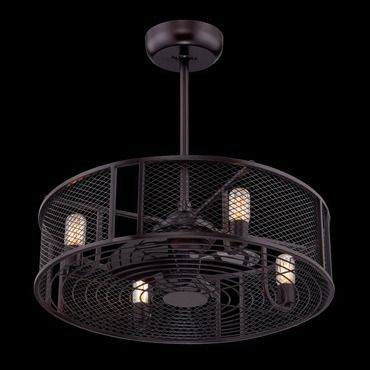 Jarvis Pendant Ceiling Fan Combination By Eurofase 28299
