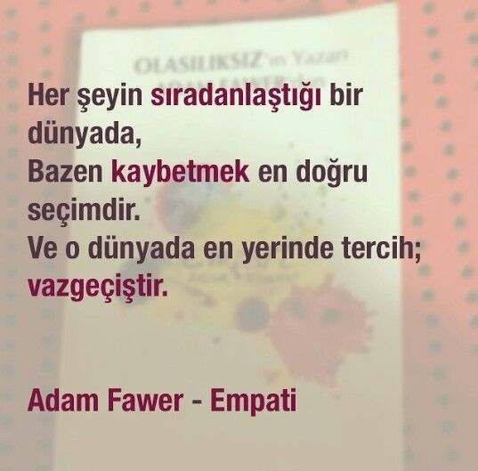 Adam Fawer - Empati