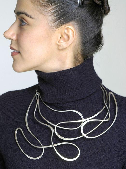 [100] Art Smith Sterling Necklace copy
