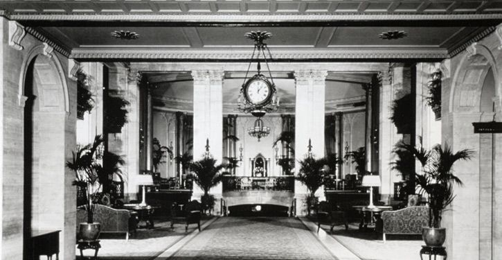 Learn About The Roosevelt Hotel History in New York City