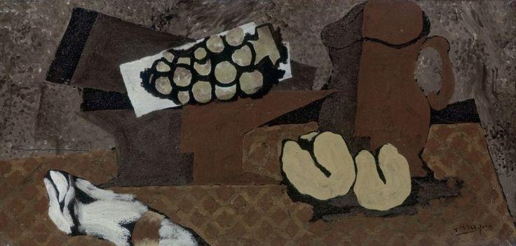 Натюрморт с коричневым кувшином - Жорж Брак