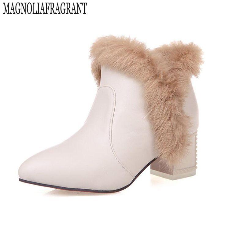 Chaussons Femme Hiver Augmenter charmant Lapin Chausson hauteur croissante mignonne Plusieurs couleurs chaussure Plus Taille 35-40 Kw2DR1