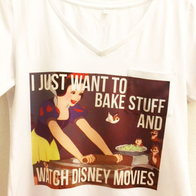 I Just Want To Bake Stuff and Watch Disney Movies | Snow White | Disney Princess