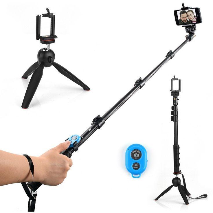 Mini Tripod, Selfie Stick, & Remote