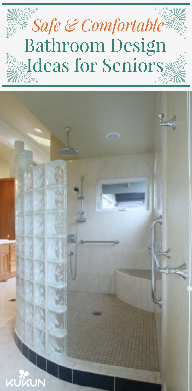 8 Design Ideas To Create Senior Friendly Bathrooms Bathroom Design Senior Bathroom Design Bathrooms Remodel