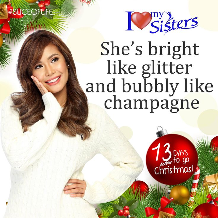 Shine Bright Sisters! 😉✨❤ #SistersPH #ILoveMySisters #StandProud #SliceOfLife #ShineBright #WeAreOneWeAreSisters #13dayBeforeChristmas