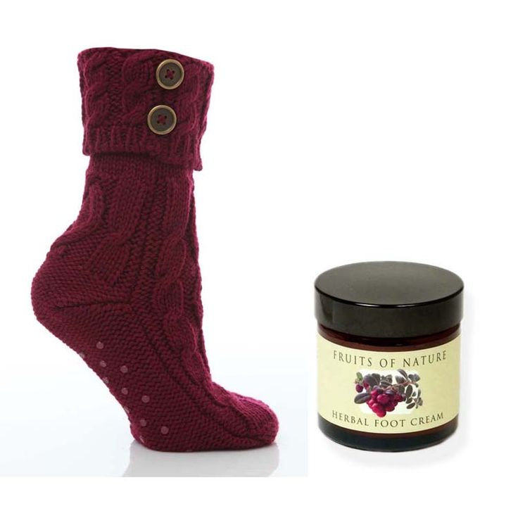 Get Well Gift For Her, Slipper Socks & Foot Lotion - Happy Feet - Gift Ideas - pjsandprose.com