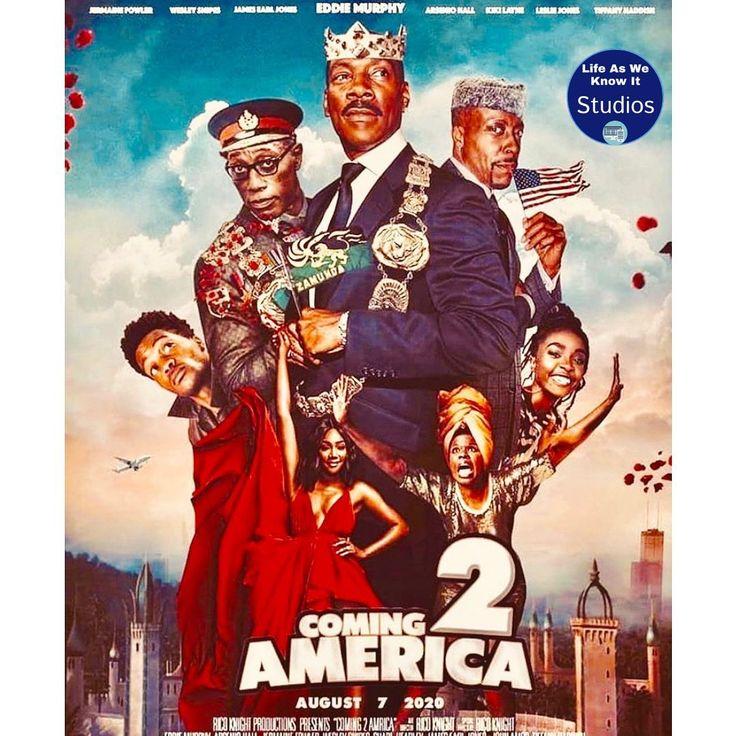 Are Y All Ready To See Coming To America In January 2020 Tiffanyhaddish Lesliejones Eddiemurphy Arseniohall Jamesearl Full Movies America Movie America