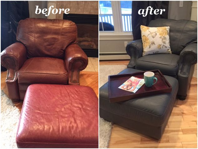 Peppercorn Dark Grey Pigment For Refinishing Leather Vinyl Leather Couch Repair Grey Leather Couch Leather Restoration