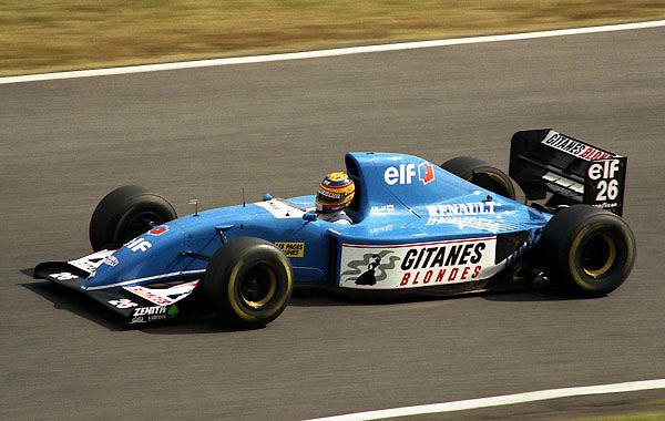 Ligier JS 39 - Renault
