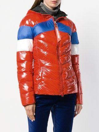 9b44e4608f7 Pinko hooded puffer jacket   Down jacket 2 in 2019   Puffer jackets ...