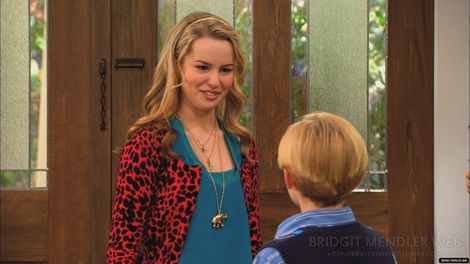 Bridgit Mendler- another awesome sweater