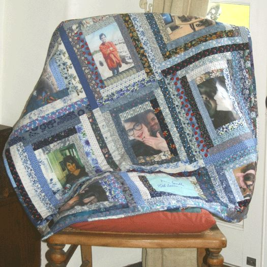 Memory Quilts | Speedwell Quilts - Photograph Memory Quilts