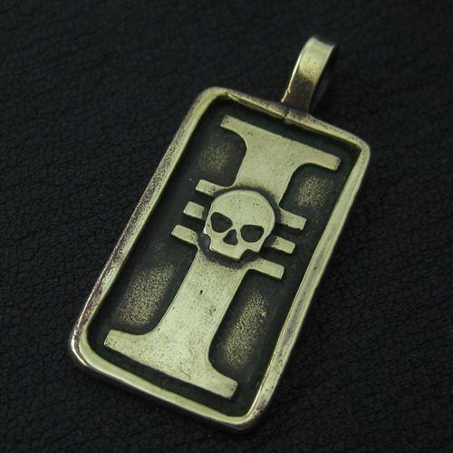 Bronze Inquisition pendant. Warhammer 40000. W40K. Imperium of Mankind. #Pendant