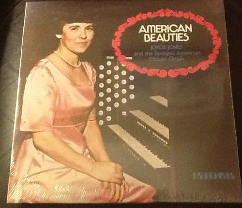 American Beauties-Joyce Jones and the Rodgers American Classic Organ LP NEW