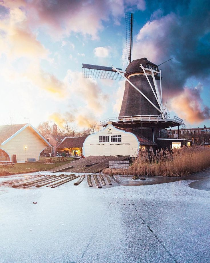 The Lombok Windmill, Utrecht, The Netherlands by @itsmadsphoto