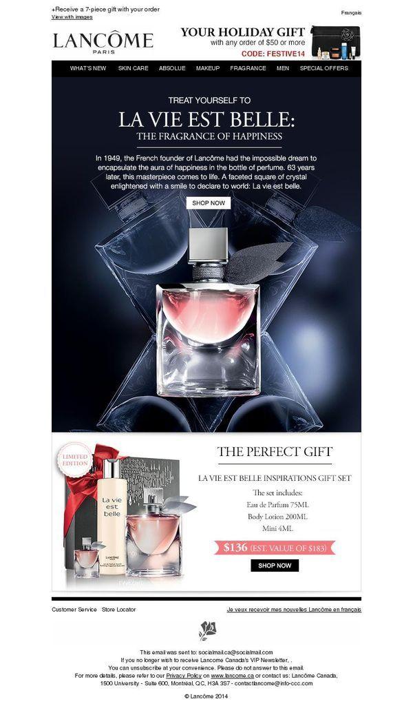 La Vie Est Belle - The scent that makes life more beautiful