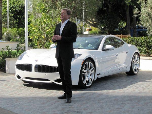 Breaking: Henrik Fisker leaving struggling electric car company Fisker Automotive