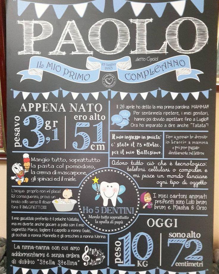 """#firstbirthday #baby #babies #birthday #bday #compleanno #festa #primocompleanno #party #lavagnettiamo #lavagnettiamo@gmail.com #solocosebelle #love…"""