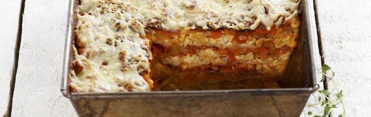 http://www.tine.no/oppskrifter/middag-og-hovedretter/pasta-og-ris/fullkornslasagne-med-cottage-cheese