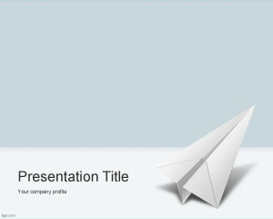 11 best transportation powerpoint templates images on pinterest paper airplane powerpoint template is a free ppt template for air transportation or travel but also toneelgroepblik Images