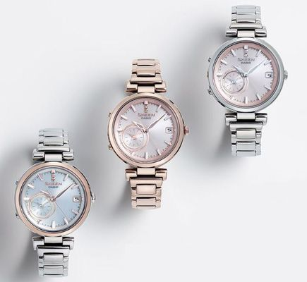 Casio has unveiled the Sheen SHB-100, its first ladies watch from Casio to adopt their Global Time Sync concept for accurate time across different time zones