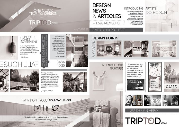 Booklet Design for Triptod.com