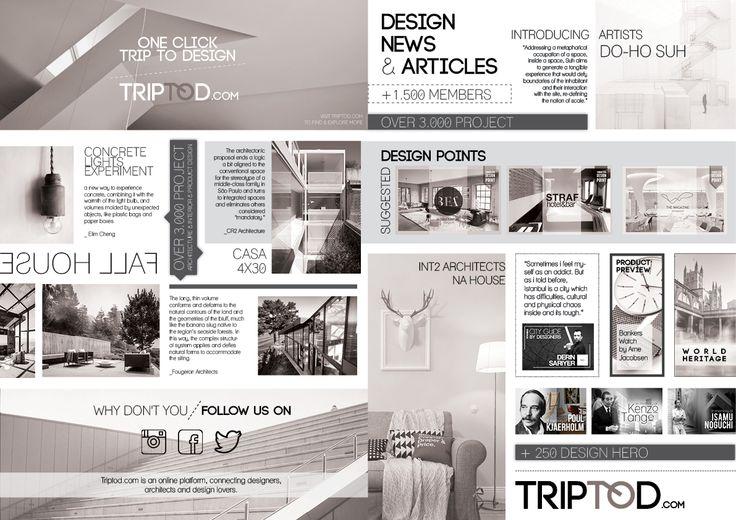 Booklet Design for Triptod.com