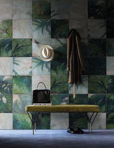 Exotic damier www.wallanddeco.com #wallpaper, #wallcovering, #cartedaparati