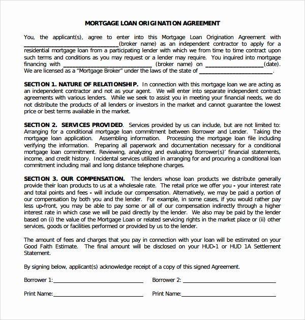Mortgage Buyout Agreement Elegant 11 Mortgage Agreement Templates Mortgage Agreement Mortgage Mortgage Tips