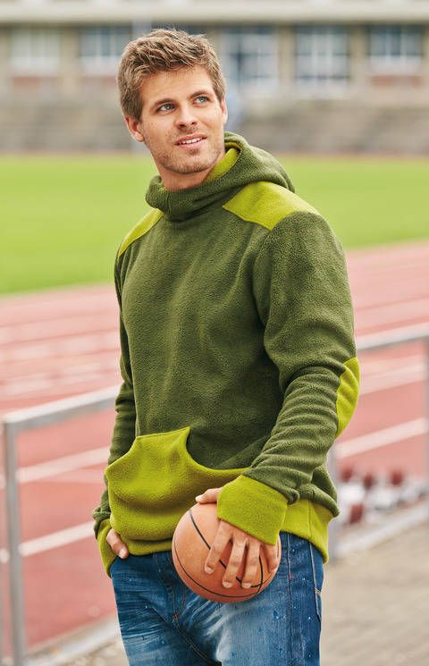Sportsman Hoodie für Herren bei Makerist
