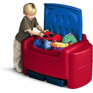 Little Tikes Sort 'N Store Toy Chest, Primary