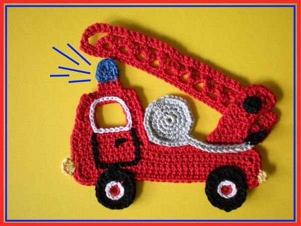 crochet small motif: more ideas - crafts ideas - crafts for kids