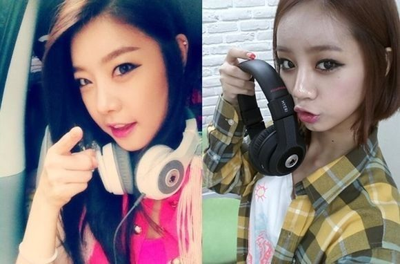 Girls' Day Sojin-Hyeri Reveal Couple Headphones, 'Cute' | Girls' Day members #Sojin and #Hyeri revealed their couple headphones. | Link: http://www.kpopstarz.com/articles/33437/20130704/girls-day-sojin-hyeri-reveal-couple-headphones-cute.htm