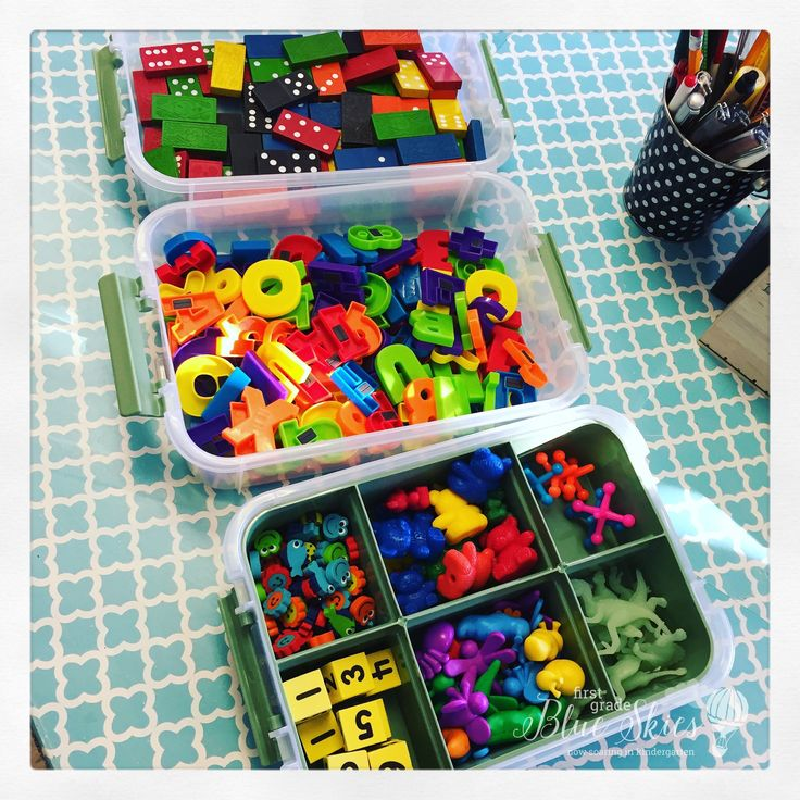 Inventory Exploration Boxes Freebie for Kindergarten and First Grade alternative to morning work or to increase play and engagement during the school day