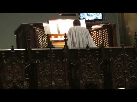 Easter 2014 - Fanfare and Easter Hymn - Cathedral of St. John The Divine, NYC - YouTube