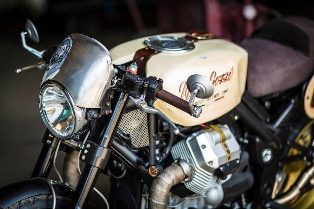 Moto Guzzi Griso Cafe Racer by Flavio Vergani #motorcycles #caferacer #motos   caferacerpasion.com