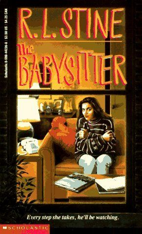 The Babysitter by R.L. Stine. Another spooky read for the younger set, or you know, the young at heart ;) there are 3 books in this series!!