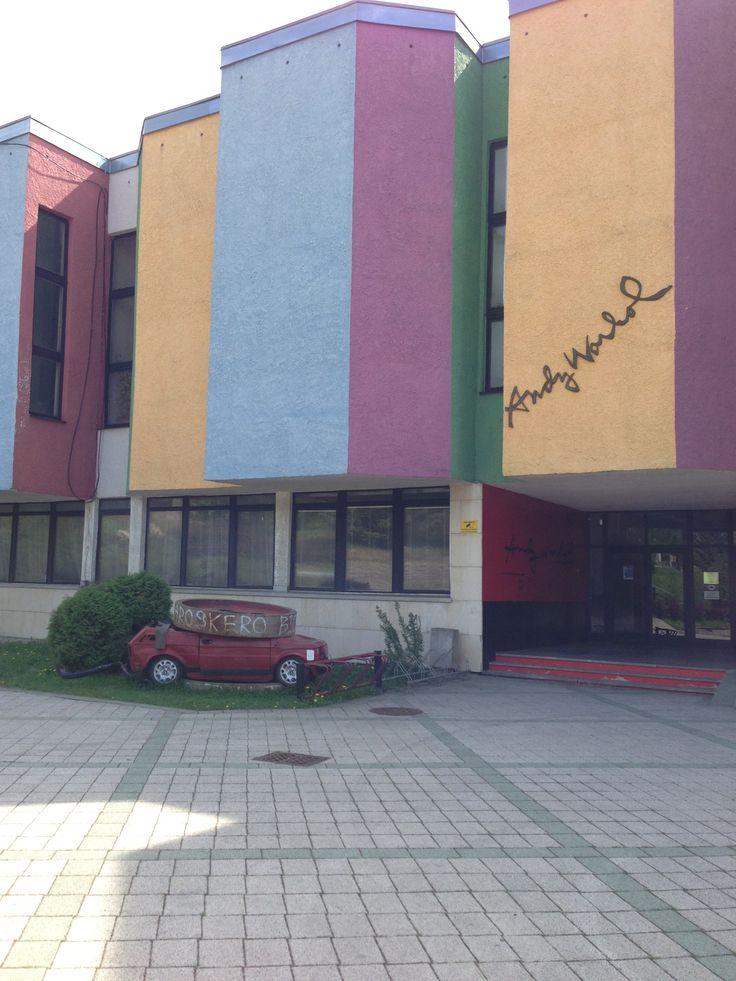 Muzeum Andyho Warhola in Medzilaborce, Prešovský kraj