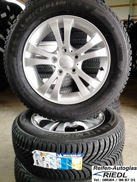 4x Winterräder VW Golf 7 / Golf 6 uvm. 195/65 R15 91T Michelin Reifen Alufelgen