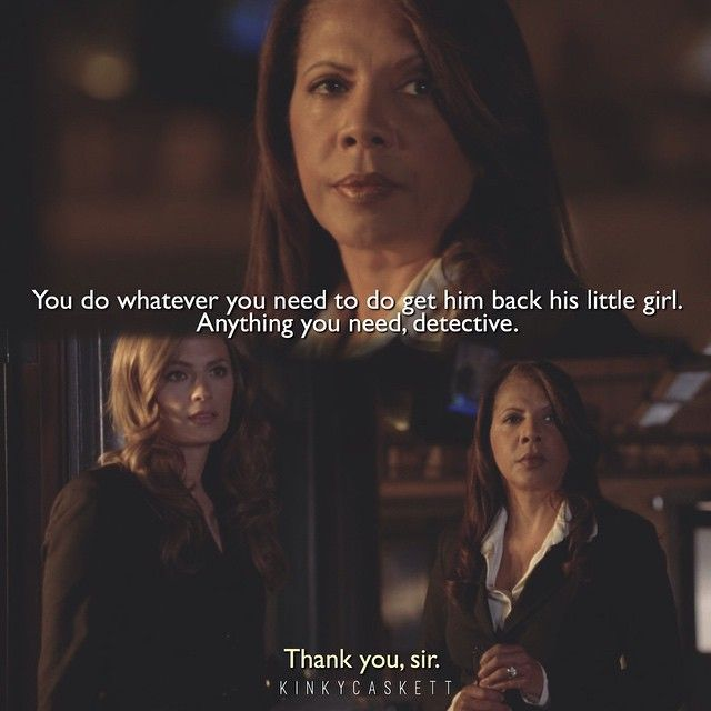 I miss Gates, kinda loved how she acted with Castle especially when Alexis went missing