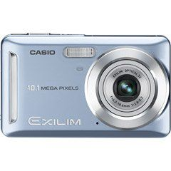 Casio 10 Mp 3X Opt 2.7IN LCD Digital Cam Blue. 10.1 Megapixels for high resolution, detailed images and large prints. Image Sensor - 1/2.5-inch square pixel CCD. Still images - up to 10MP (3648 x 2736), 16 - 9 (3648 x 2048); Movies - 848 x480 (WIDE, 30 fps), VGA (640x480 30fps). File Format - Still - JPEG (Exif Ver. 2.2), Video - AVI format, Motion JPEG, IMA-ADPCM. Media - 17.8MB built-in flash memory, SD Memory Card, SDHC Memory Card.