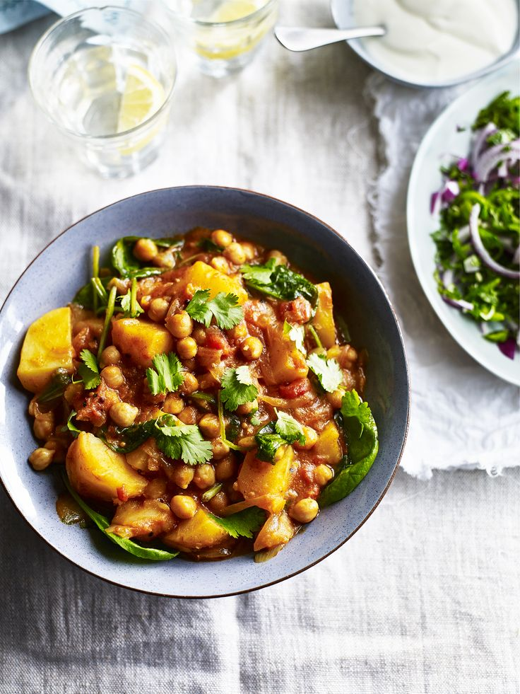 The masala is a gluten free curry-lovers favourite! Swap the meat for this vegetarian delight, made with gorgeous potatoes and flavoursome chickpeas - delicious!