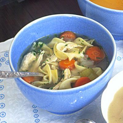 Hearty Chicken Noodle Soup  - Delish.com
