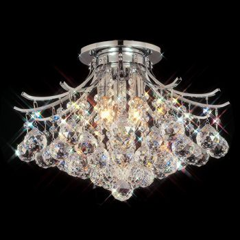 90 best shine on images on pinterest chandeliers home ideas costco contour flush mount chandelier in polished chrome mozeypictures Image collections