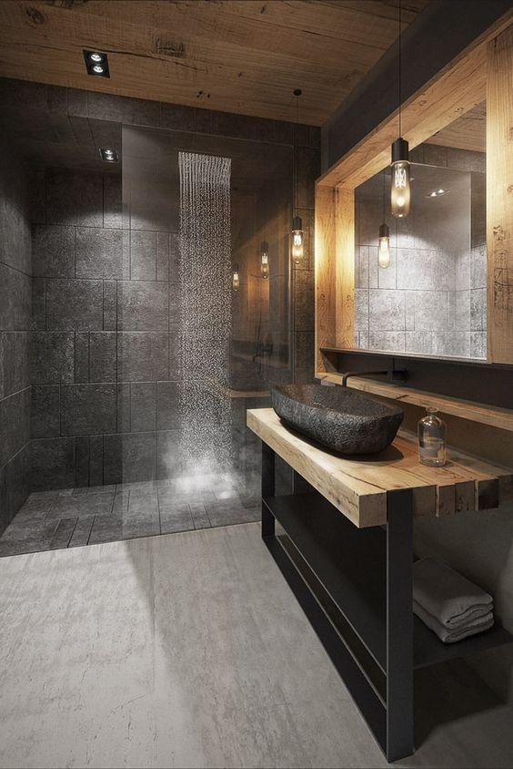 Badezimmer von razoo-architekci   – Emilie Bouillaud