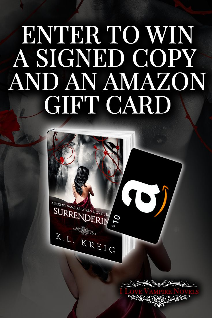 Win a $10 Amazon Gift Card & Complete Signed Paperback Set From Bestselling Author K.L. Kreig