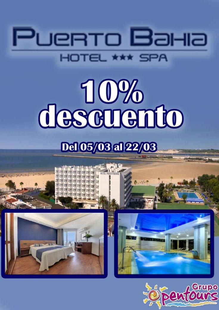 | GRUPO OPENTOURS | . Hotel Puerto Bahía Spa *** (Puerto de Santa María, Cádiz, Andalucía, España) ---- Especial 10% de descuento ---- Del 05 al 22 de Marzo ---- Resto condiciones de esta oferta en www.opentours.es ---- Información y Reservas en tu - Agencia de Viajes Minorista - ---- #puertobahiaspahotel #hotelpuertobahia #ElPuertodeSantaMaria #ElPuerto #cadiz #andalucia #enamorados #parejas  #escapadas #hoteles #vacaciones #estancias #ofertas #agentesdeviajes #reservas #touroperador…