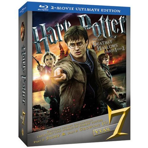 One of my favorite discoveries at HarryPotterShop.com: Harry Potter and the Deathly Hallows: Parts 1 and 2 Ultimate Edition Blu-ray Combo Pack